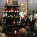 Italian book launch at Pinocchio Restaurant Dublin