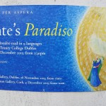 """Lettura del """"Paradiso"""" di Dante al Trinity College Dublin"""
