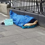 SPARING A THOUGHT FOR THE HOMELESS