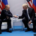 "TRUMP-PUTIN  AT THE G20 ""A LOVE -FEST"" WITH NO POINT"" by Concetto La Malfa"