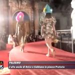 SPETTACOLARE DOLCE E GABBANA FASHION SHOW A PALERMO
