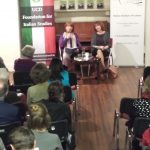 DR URSULA FANNING LAUNCHES A BOOK AT THE ITALIAN INSTITUTE OF CULTURE