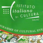 EVENTI CULTURALI ITALIANI A DUBLINO