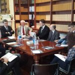 IMPORTANT MEETING AT THE ITALIAN EMBASSY