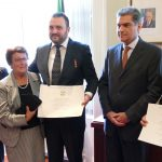 THE HONOUR OF THE ORDER OF THE STAR OF ITALY AWARDED TO TWO DISTINGUISHED ITALIANS IN IRELAND